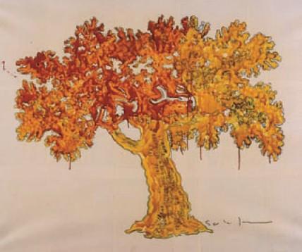 L'albero della vita di Mario Schifano