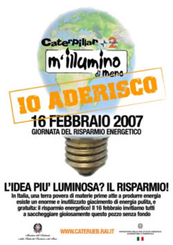 Mi illumino di meno 2008