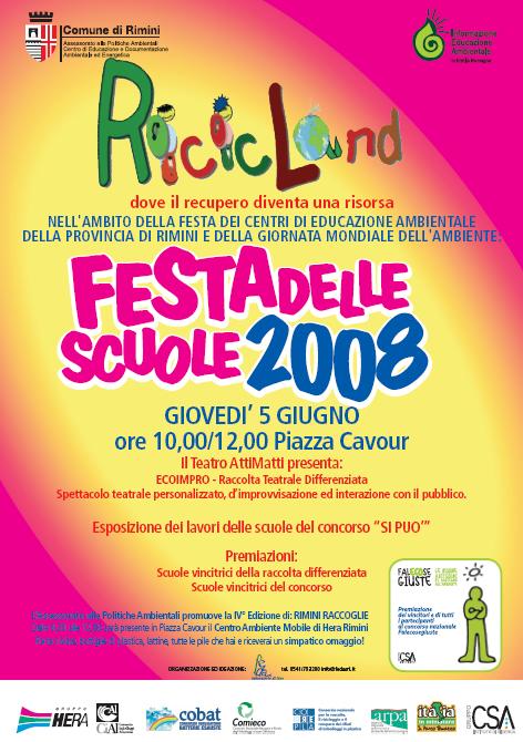 Ricicland 2008 manifesto