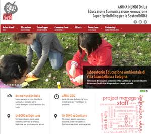 Animamundi.it Realizzazione sito web - Educazione Comunicazione Formazione Capacity Building per la Sostenibilità