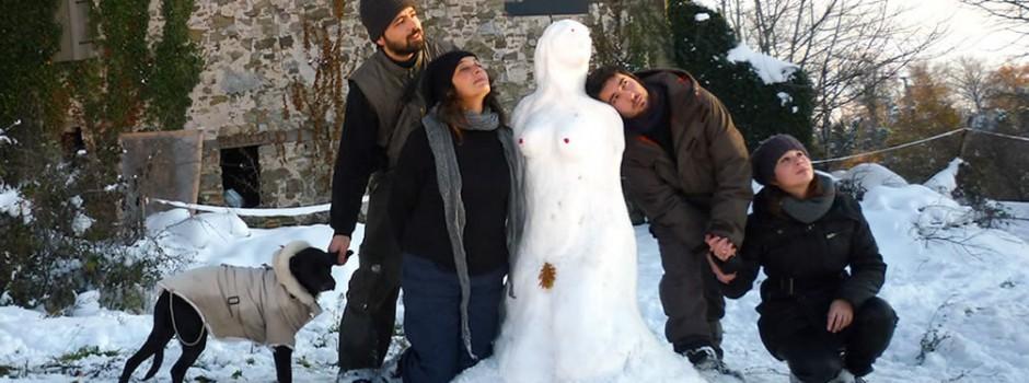 SassoErminia con la neve