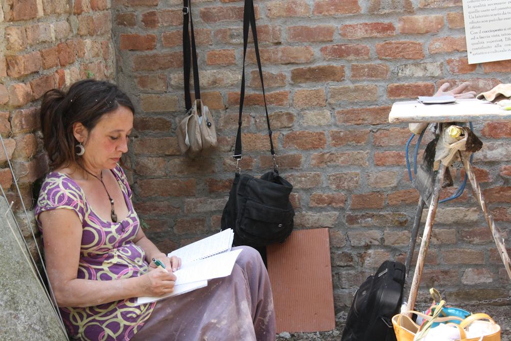 cocciopesto workshop intonaco corso zanzini
