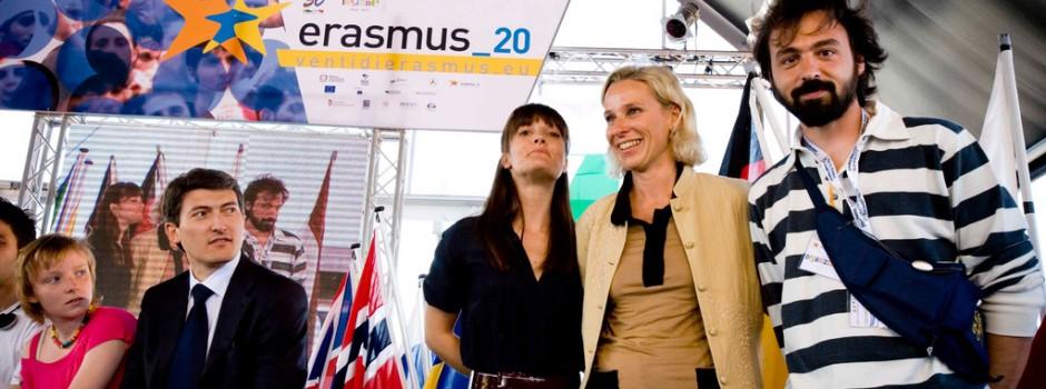 Venti di Erasmus - Festa dell'Europa con Ministro Giovanna Melandri e Victoria Cabello