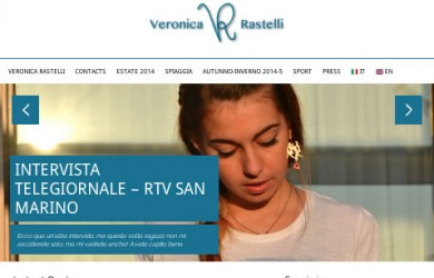 webdesign fashion blogger social network veronica rastelli