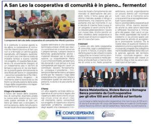 cooperativa di comunità san leo fer-menti leontine