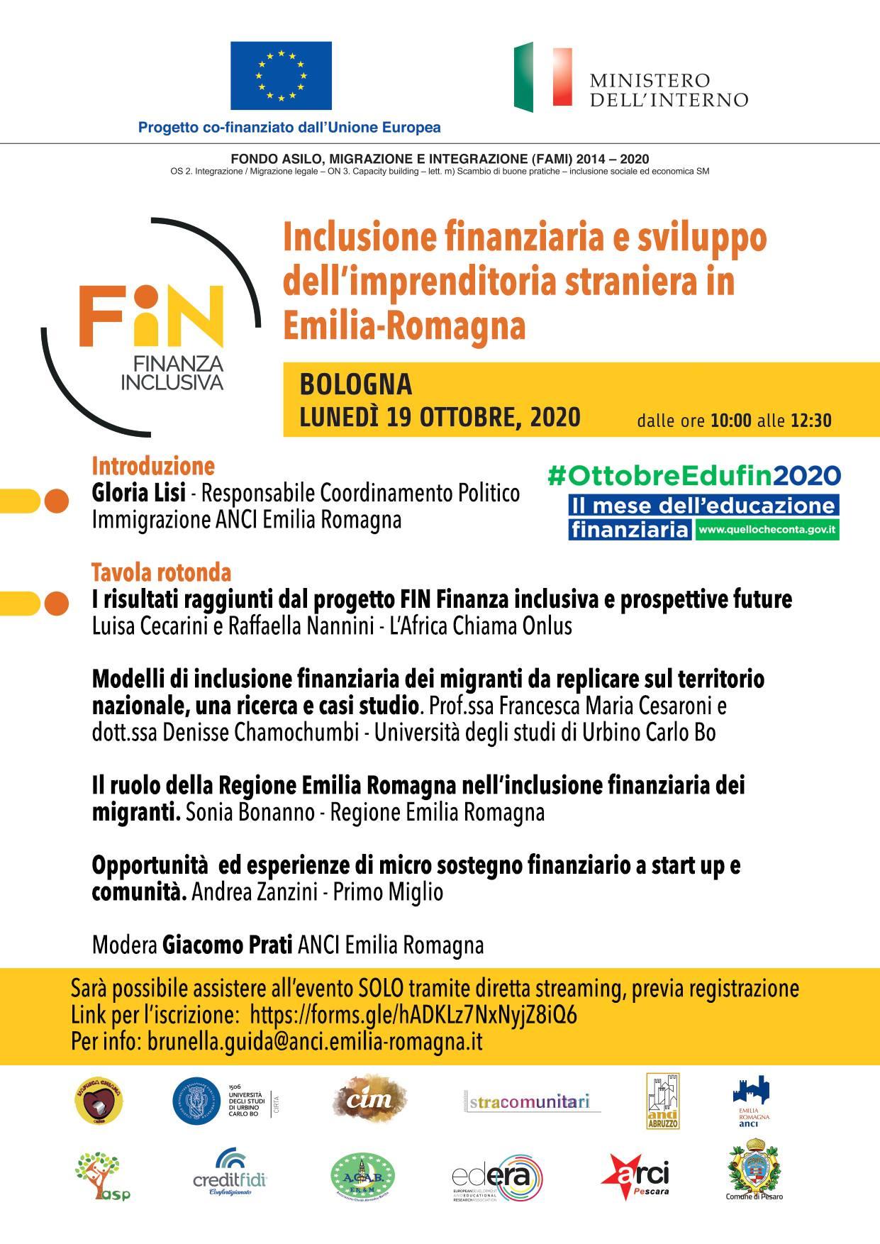 Inclusione finanziaria e sviluppo dell'imprenditoria straniera in Italia
